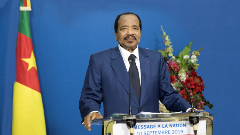 "Crise séparatiste au Cameroun : Biya convoque un ""grand dialogue national"""